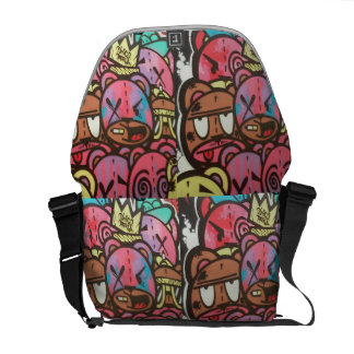 Street Bears WABStreetArtDesign #Inthebag Commuter Bag