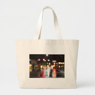 Street Bokeh Tote Bag