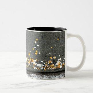 Street Braile Two-Tone Coffee Mug