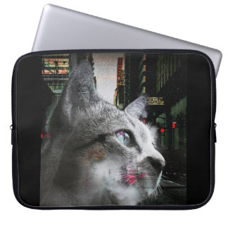 Street Cat Laptop Sleeve