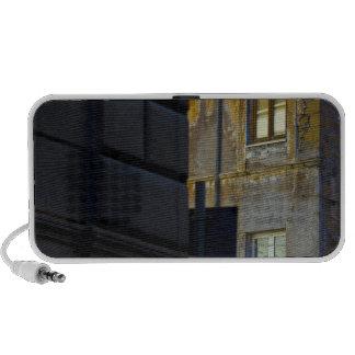 Street corner in Rome, Italy iPod Speakers