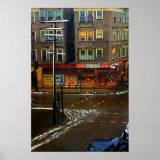Street Corner Market Print