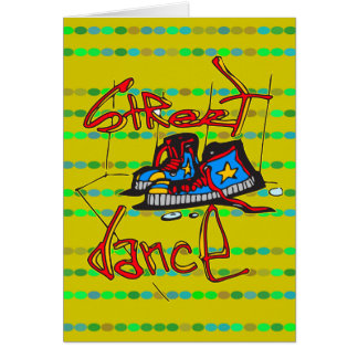 Street Dance and Shoes Card