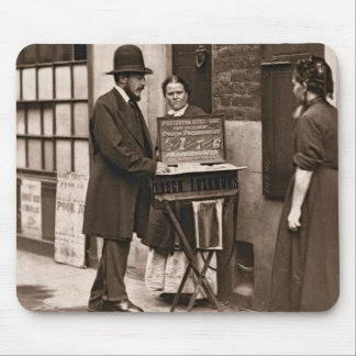 Street Doctor, 1876-77 (woodburytype) Mouse Pad