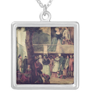 Street Fair Silver Plated Necklace