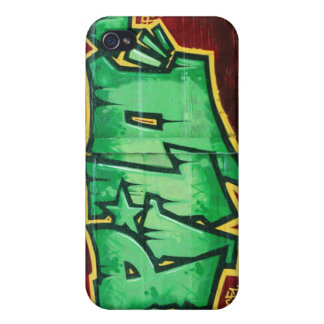 street graffiti art 4 casing iPhone 4/4S cover