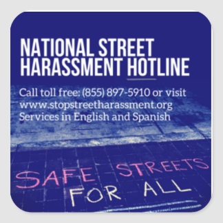 Street Harassment Hotline Sticker 2