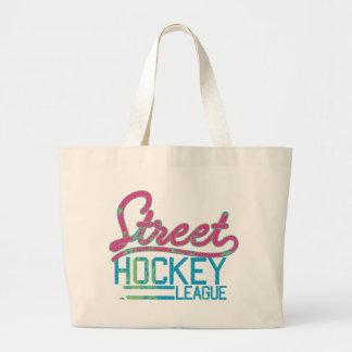 street hokey team legue tote bags