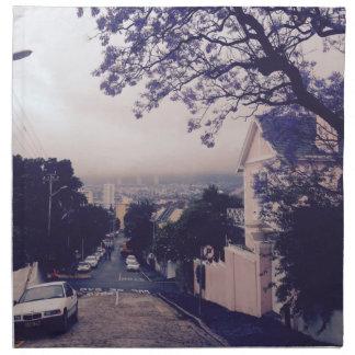 Street in Cape Town Napkin