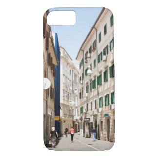 Street in Croatia Rjeka Europe iPhone 8/7 Case