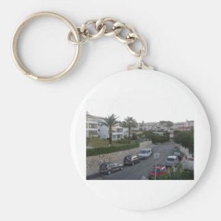 Street in La Riviera Mijas Keychain