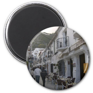 Street in Mijas, Spain Magnet