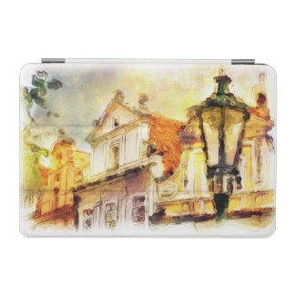 Street in old part of prague iPad mini cover