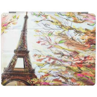 Street In Paris - Illustration 2 iPad Cover
