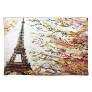 Street In Paris - Illustration 2 Placemat