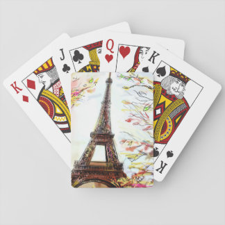 Street In Paris - Illustration 2 Playing Cards
