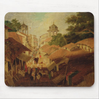 Street in Patna, c.1825 (oil on canvas) Mouse Mat