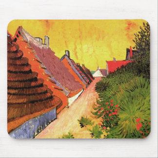 Street in Saintes-Maries by Vincent van Gogh Mouse Pad