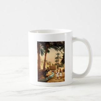 Street in the old town, Biskra, Algeria Coffee Mug