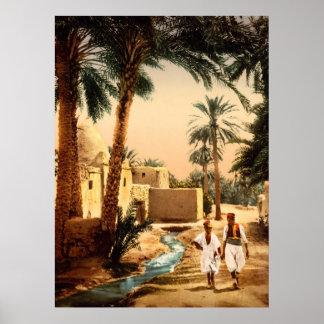 Street in the old town, II, Biskra, Algeria Poster