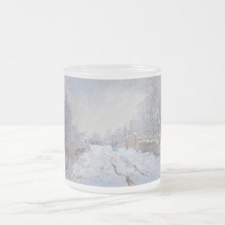 Street in the Snow Argenteuil by Claude Monet Coffee Mugs