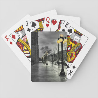 Street lamp Classic Playing Cards