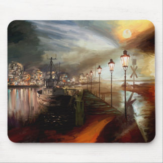 Street Lamp Hallucination Mousepads