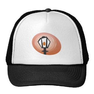 Street Lamp Trucker Hats