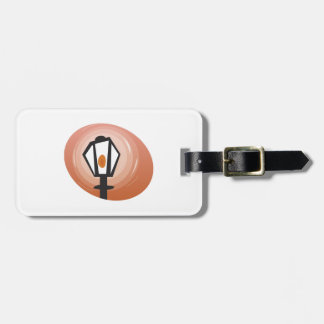 Street Lamp Luggage Tags