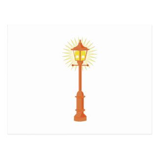 Street Lamp Postcard