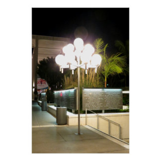 Street Lamp Print