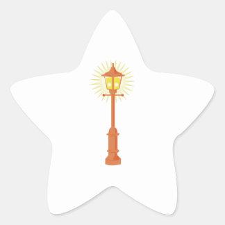 Street Lamp Star Sticker