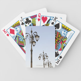 Street Lamps Bicycle Playing Cards