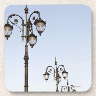 Street Lamps Drink Coaster