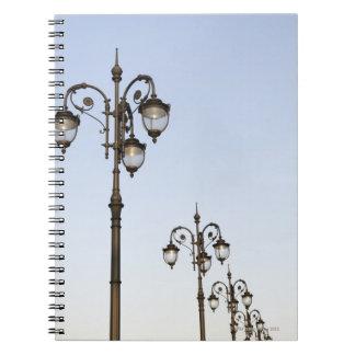 Street Lamps Notebook