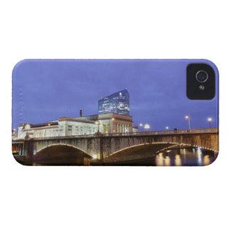 Street lights at night Philadelphia railroad iPhone 4 Cover