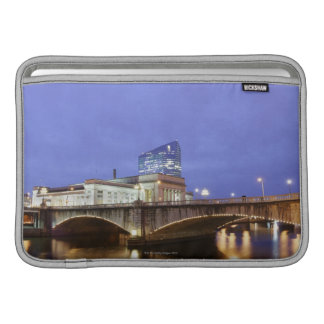 Street lights at night Philadelphia railroad Sleeve For MacBook Air