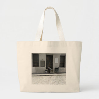 Street Music Jumbo Tote Bag