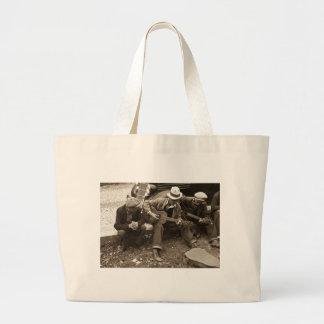 Street musicians, Maynardville, Tennessee, 1935 Canvas Bag