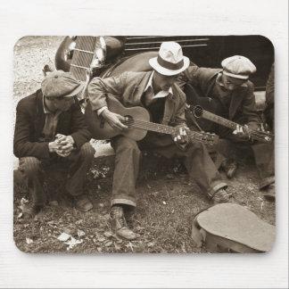Street musicians, Maynardville, Tennessee, 1935 Mouse Mat