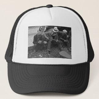 Street musicians, Maynardville, Tennessee, 1935 Trucker Hat