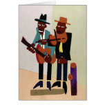 Street Musicians ~ Vintage American Art