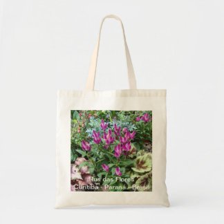 Street of Flores Budget Tote Bag
