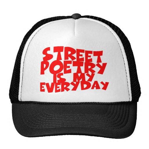 Street Poetry Is My Everyday Mesh Hat