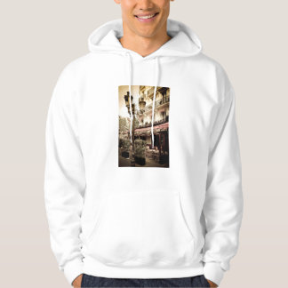 Street restaurant, Paris, France Hoodie