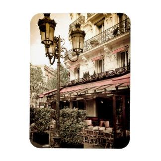 Street restaurant, Paris, France Magnet
