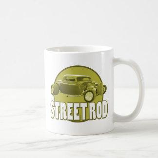 street rod circle mugs