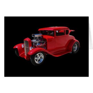 Street Rod Greeting Card