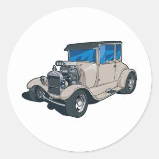 Street Rods Classic Round Sticker