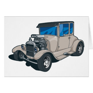 Street Rods Greeting Card